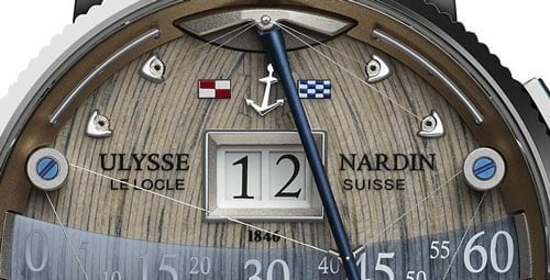 Ulysse Nardin Grand Deck Marine Luxury Watch Review