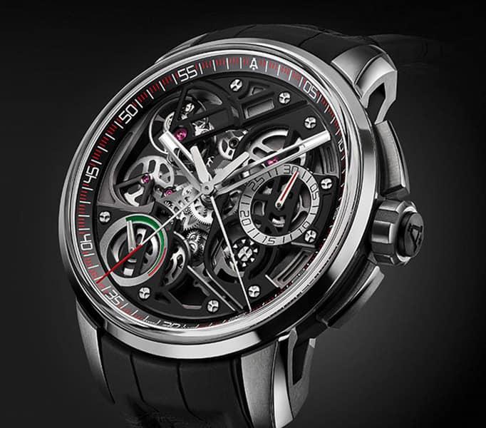 Angelus - U30 Tourbillon Rattrapante Top 10 Best Rattrapante Chronograph Watch for Collectors