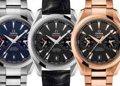 Omega Seamaster Aqua Terra GMT Chronograph Watch