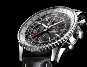 BREITLING NAVITIMER GMT WORLD COLLECTION