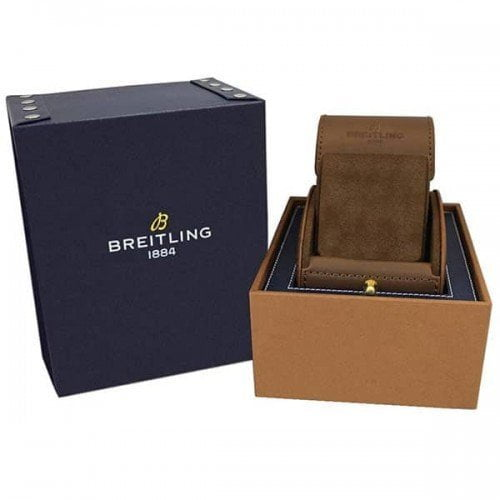 Breitling Transocean Chronograph Unitime 46mm box