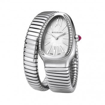 Bulgari Serpenti Tubogas 35mm Ladies Watch sp35c6sds-1t 101816