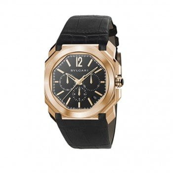 Bvlgari Octo VELOCISSIMO 18K Pink Gold Mens Watch BGOP41C11GLDCH