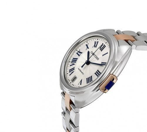 Cle De Cartier W2CL0004 31mm Automatic Womens Luxury Watch Caliber 1847 MC side view @majordor #majordor