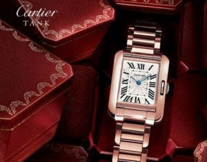 CARTIER TANK ANGLAISE COLLECTION