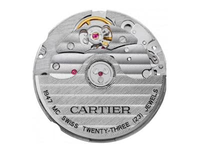 Cartier Caliber 1847 MC cle de cartier automatic movement @majordor #majordor