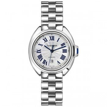 Cartier Cle De Cartier WSCL0005 31mm Automatic Ladies Luxury Watch Caliber 1847 MC front side @majordor #majordor