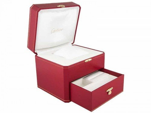 Cartier Tank Anglaise WJTA0004 Small Ladies Watch Box