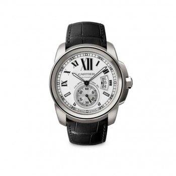 NEW CALIBRE DE CARTIER Mens Automatic Luxury Watch W7100037