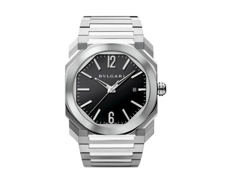 Bvlgari Octo 38mm Black Dial Automatic Mens Watch