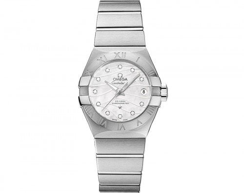 Omega Constellation 123.10.27.20.55.002 Co-Axial Automatic 27mm Ladies Watch front view
