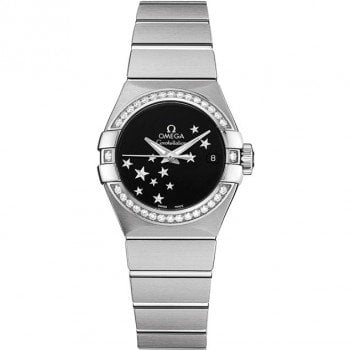 Omega Constellation Automatic 27mm Ladies Watch 12315272001001 front view