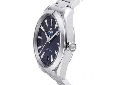 Omega Seamaster 220.10.41.21.03.001 Aqua Terra Master 41mm Omega Aqua Terra Blue Dial Seamaster Watches Review