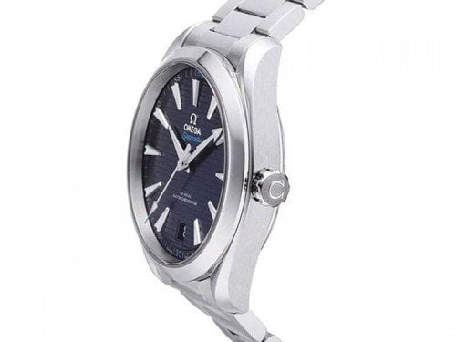 Omega Seamaster 220.10.41.21.03.001 Aqua Terra Master 41mm Mens watch automatic side view