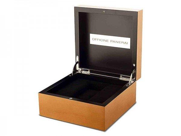 Panerai Luminor pam00311 1950 Monopulsante 8 Days GMT Titanio box