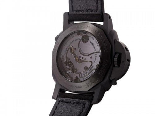 Panerai Luminor pam00317 1950 Chrono Monopulsante 8 Days GMT Ceramica back case