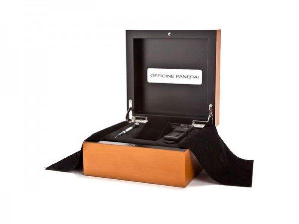 Matte Titanium Tang Buckle box