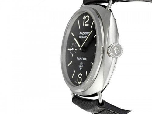 Panerai Radiomir PAM00380 Black Seal Acciaio Mens Watch limited edition side view 1