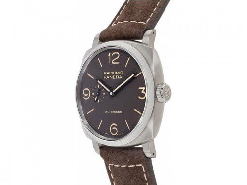 Panerai Radiomir PAM00619 1940 3 Days TITANIO Mens Watch Limited edition side view