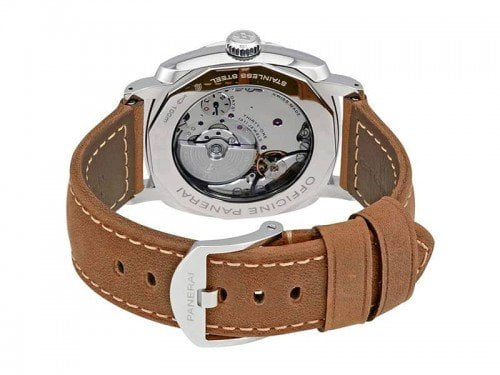 Panerai Radiomir PAM00657 1940 3 Days GMT ACCIAIO Mens Watch back case