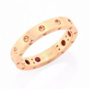 Roberto Coin Ladies Symphony Collection White Rose Yellow Gold Rings