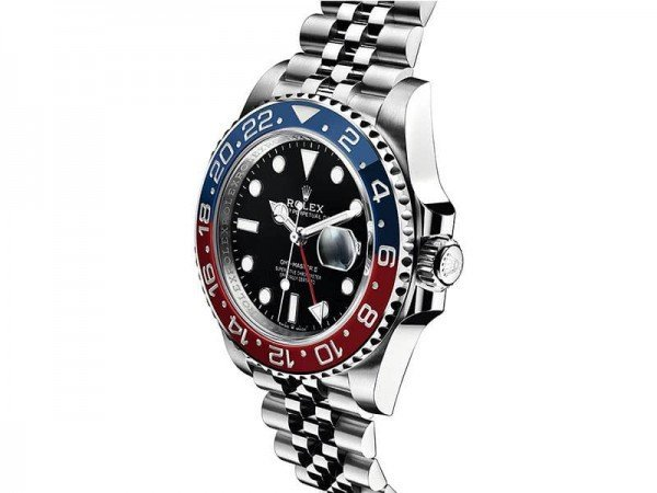 Rolex 126710blro GMT-Master II Pepsi Professional Mens Watch side view