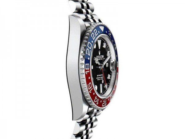 Rolex 126710blro GMT-Master II Pepsi Professional Mens Watch side view 2