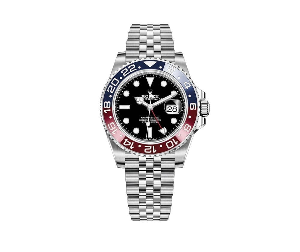 Rolex Oyster Professional GMT-Master II Mens Watch 126710BLRO