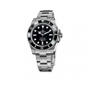 114060 Rolex Submariner Date Black Dial Steel Case and Bracelet Watch @majordor #majordor