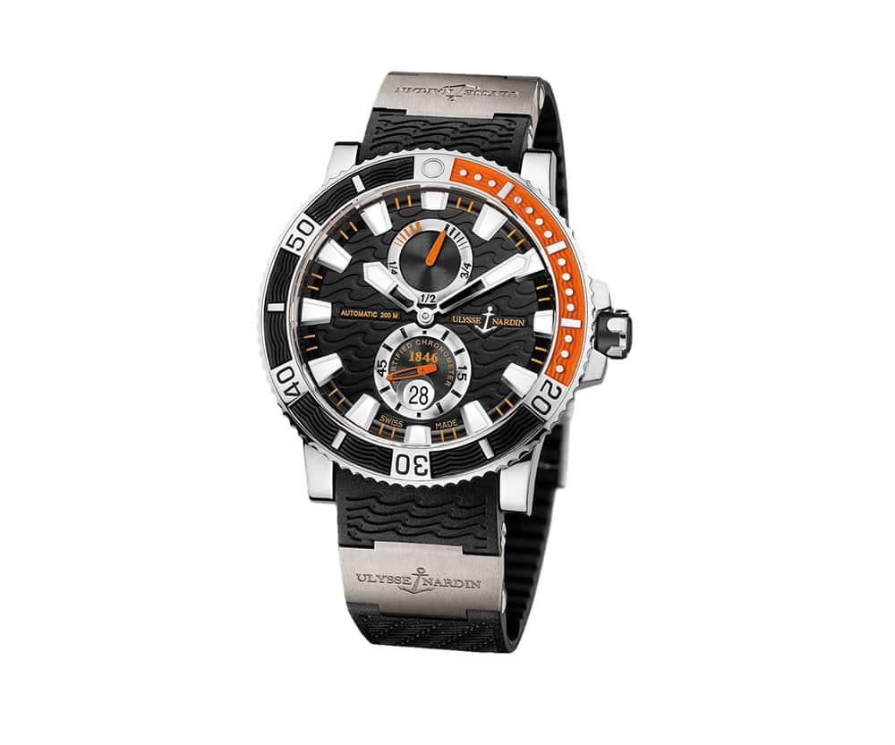 Ulysse Nardin Maxi 263-90-3-92 Marine Diver Titanium Watch