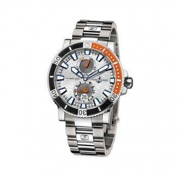 Ulysse Nardin Maxi Marine Diver Titanium Mens Luxury Watch 263-90-7M-91
