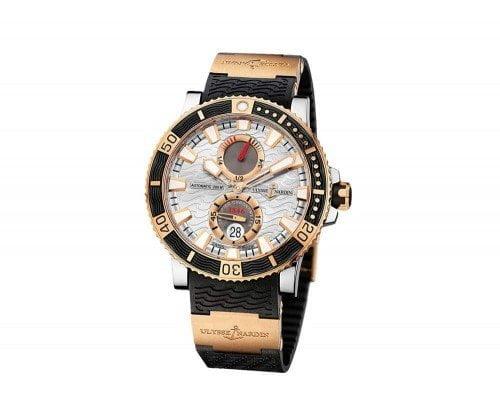 Ulysse Nardin 265-90-3/91 Maxi Mariner Diver Titanium Mens Watch