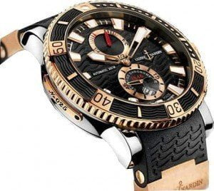 ULYSSE NARDIN MARINE DIVER TITANIUM WATCHES COLLECTION @majordor