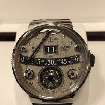 Ulysse Nardin Marine Grand Deck Tourbillon Limited Edition Mens Watch