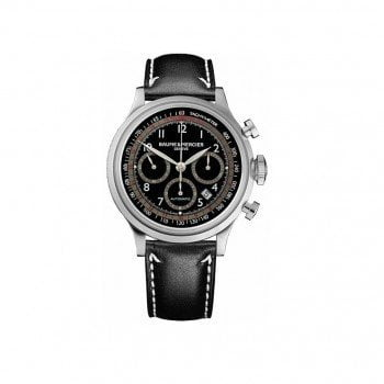 Baume et Mercier Capeland Chronograph 42mm Mens Watch MOA10001