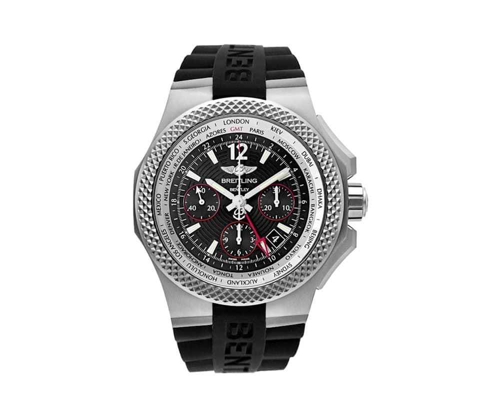 Breitling For Bentley >> Breitling Bentley Gmt Light Body Mens Watch Eb043335 Bd78 232s
