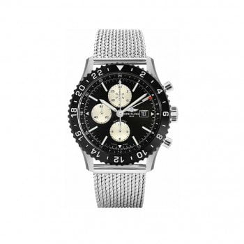 Breitling CHRONOLINER 46mm Mens Watch Y2431012-BE10-159A