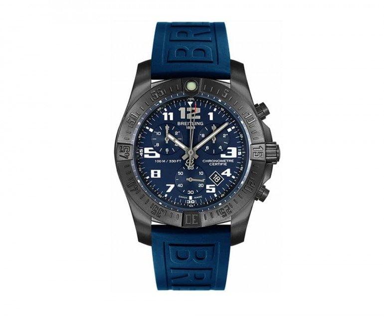 Breitling Chronospace v7333010-c939-158s Evo Night Mission Smart Watch