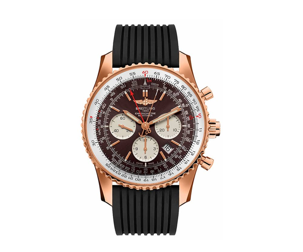 Breitling Navitimer Rattrapante RB031121-Q619-252S Gold Limited Edition