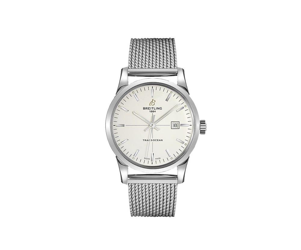 A1036012-G721-154A Breitling Transocean 43mm Luxury Mens Watch