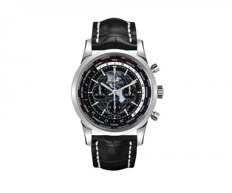 Breitling Transocean ab0510u4-be84-760p Chronograph Unitime 46mm