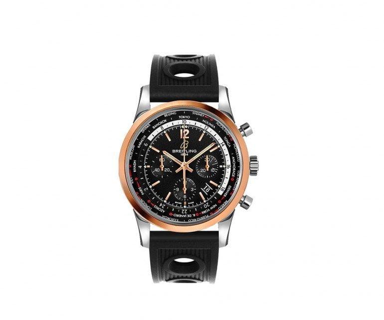 Breitling Transocean ub0510u4-bc26-201s Pilot Chronograph 46mm