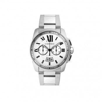 CALIBRE DE CARTIER Automatic Chronograph Mens Watch W7100045