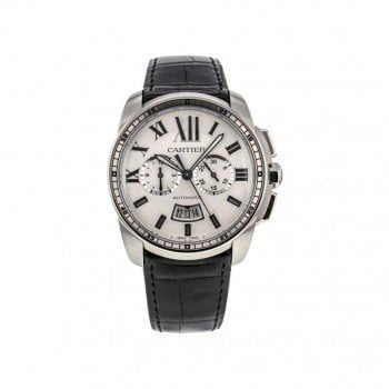 CALIBRE DE CARTIER Automatic Chronograph Mens Watch W7100046