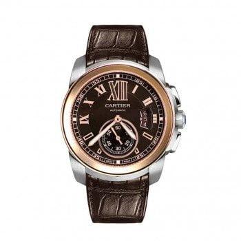 NEW CALIBRE DE CARTIER Mens Automatic Luxury Watch W7100051