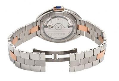 Cle De Cartier W2CL0004 31mm Automatic Womens Luxury Watch Caliber 1847 MC case back @majordor #majordor