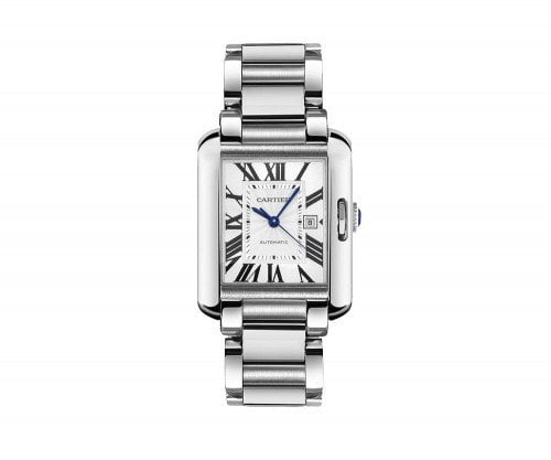 Cartier Tank Anglaise W5310009 Midsize Automatic Ladies Luxury Watch Cartier caliber 077 @majordor #majordor