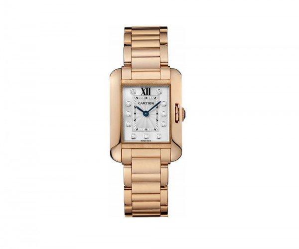 Cartier Tank Anglaise WJTA0004 Rose Gold Small Ladies Watch caliber 057 @majodor @majordor