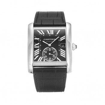 Cartier Tank MC W5330004 Automatic Black Dial Mens Luxury Watch Cartier caliber 1904-PS MC @majordor #majordor