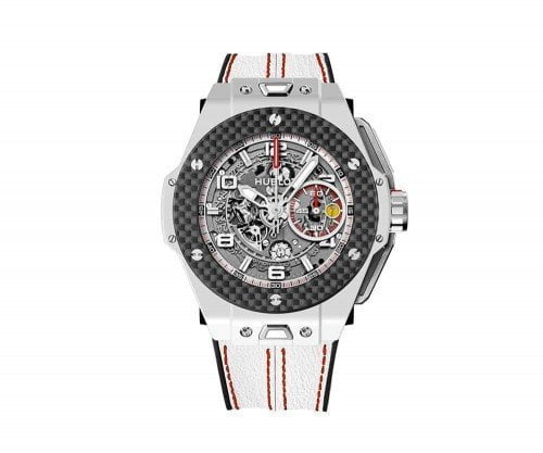 HUBLOT BIG BANG UNICO FERRARI White Ceramic Carbon 401.HQ.0121.VR
